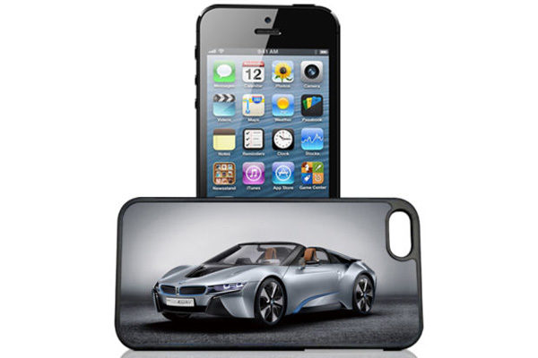 Bridge94 iPhone 5/5S/SE 3D-Back-Cover, Lamborghini