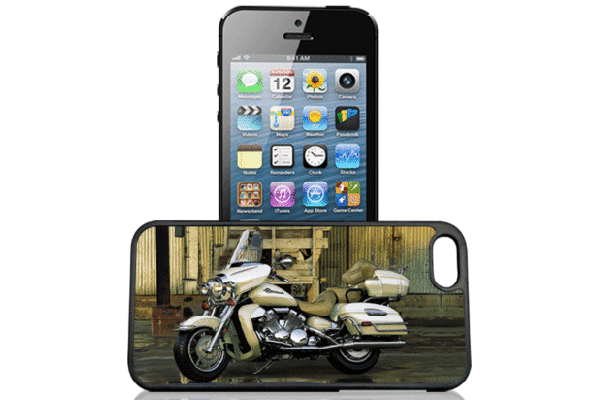Bridge94 iPhone 5/5S/SE 3D-Back-Cover, Harley Davidson