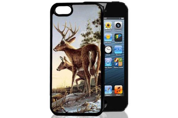 Bridge94 iPhone 5/5S/SE 3D-Back-Cover, Hirsch & Reh