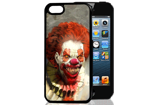 Bridge94 iPhone 5/5S/SE 3D-Back-Cover, Horror Clown