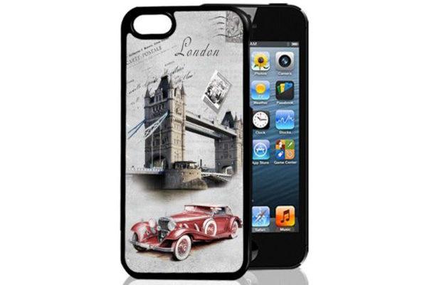 Bridge94 iPhone 5/5S/SE 3D-Back-Cover, London England