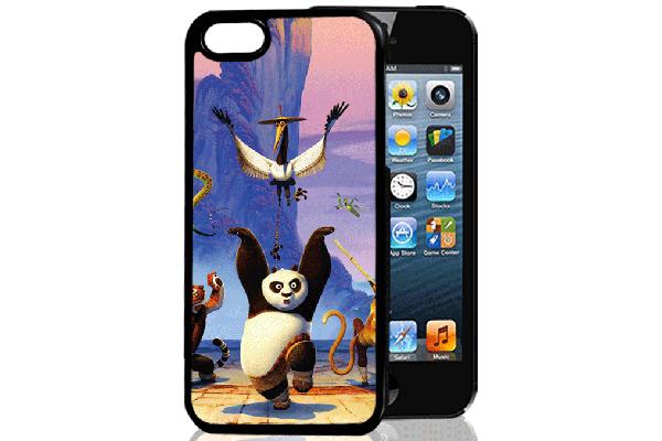Bridge94 iPhone 5/5S/SE 3D-Back-Cover, Kung-Fu Panda