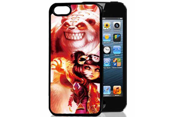 Bridge94 iPhone 5/5S/SE 3D-Back-Cover, Fantasie & Bigfoot