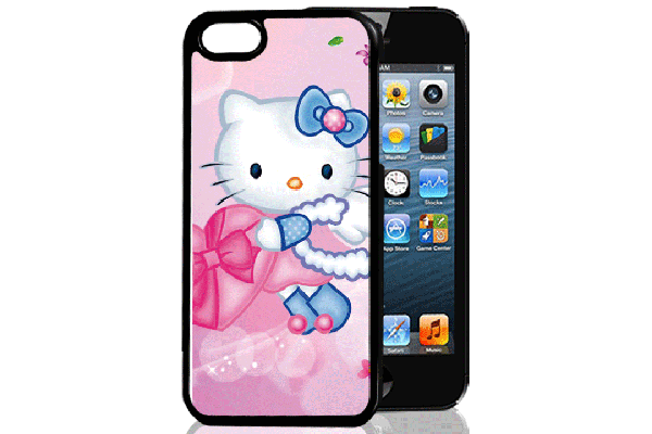 Bridge94 iPhone 5/5S/SE 3D-Back-Cover, Hello Kitty