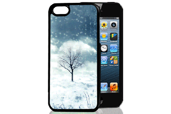 Bridge94 iPhone 5/5S/SE 3D-Back-Cover, Baum 4-Jahres-Zeiten