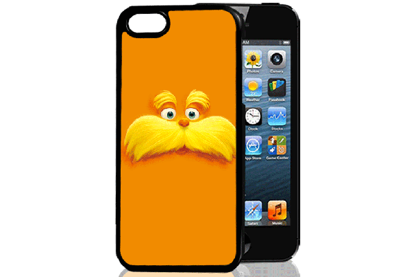 Bridge94 iPhone 5/5S/SE 3D-Back-Cover, Schnauz-Gesicht