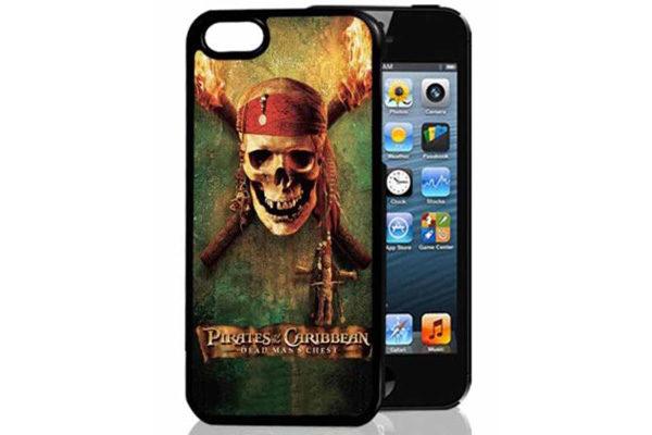 Bridge94 iPhone 5/5S/SE 3D-Back-Cover, Pirat & Skelett