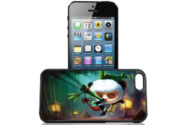 Bridge94 iPhone 5/5S/SE 3D-Back-Cover, Kung-Fu Panda Baby