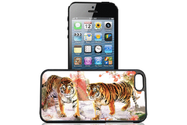 Bridge94 iPhone 5/5S/SE 3D-Back-Cover, Tiger