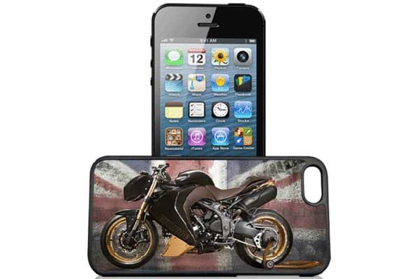 Bridge94 iPhone 5/5S/SE 3D-Back-Cover, Motorrad