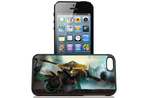 Bridge94 iPhone 5/5S/SE 3D-Back-Cover, Kung-Fu Panda
