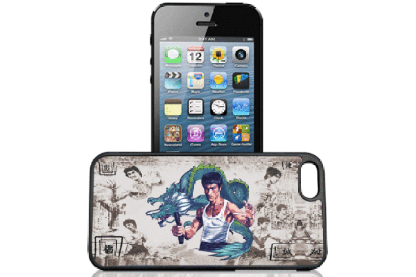 Bridge94 iPhone 5/5S/SE 3D-Back-Cover, Bruce Lee