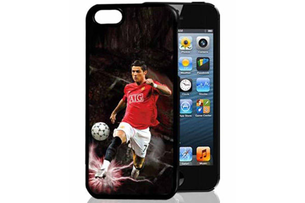 Bridge94 iPhone 5/5S/SE 3D-Back-Cover, Fussball & Ronaldo