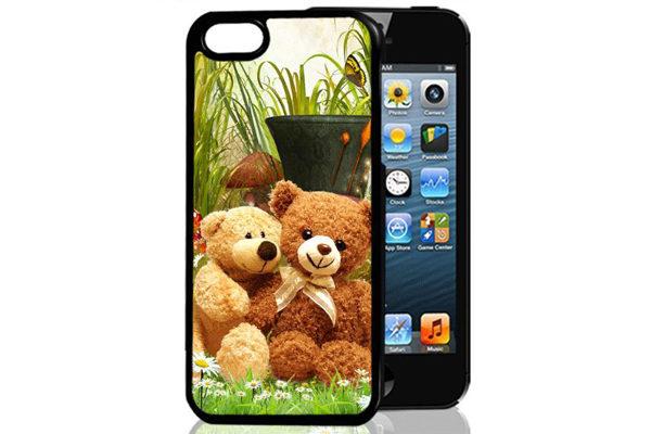 Bridge94 iPhone 5/5S/SE 3D-Back-Cover, Teddybären