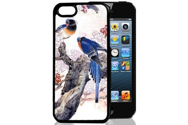 Bridge94 iPhone 5/5S/SE 3D-Back-Cover, Vögel