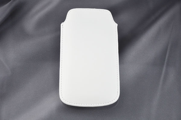 Bridge94 iPhone 5/5S/5C/SE PU-Leder Pull-Tab, weiss