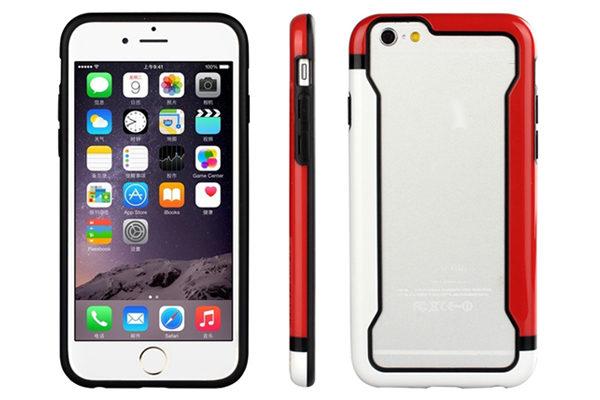 Bridge94 iPhone 6/6S Biocolor Shockproof Bumper, rot-weiss