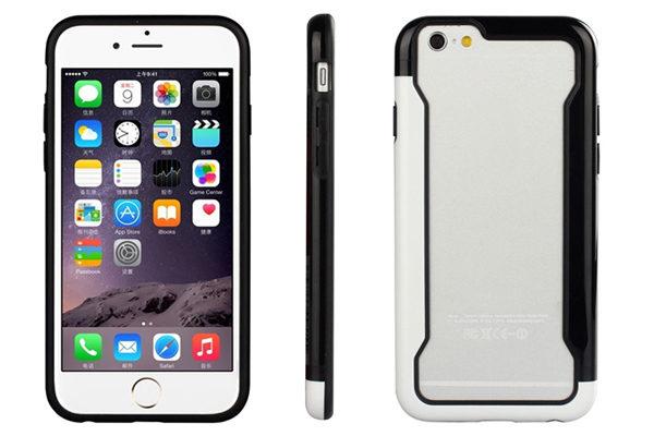 Bridge94 iPhone 6/6S Biocolor Shockproof Bumper, schwarz-weiss