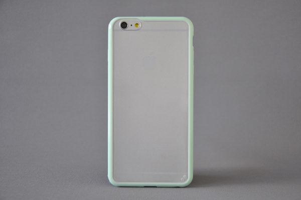 Bridge94 iPhone 6 Plus / Plus S Shockproof Back-Cover transparent, mint