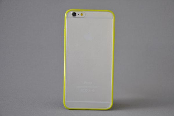 Bridge94 iPhone 6 Plus / Plus S Shockproof Back-Cover transparent, grün