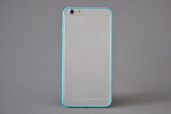 Bridge94 iPhone 6 Plus / Plus S Shockproof Back-Cover transparent, türkis