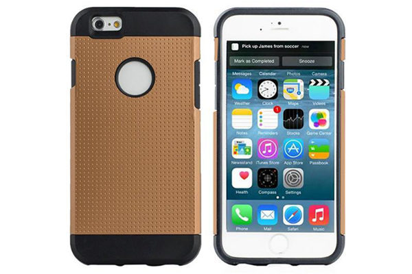Bridge94 iPhone 6/6S Shockproof Back-Cover, gold