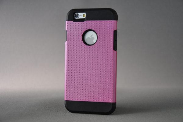 Bridge94 iPhone 6/6S Shockproof Back-Cover, pink