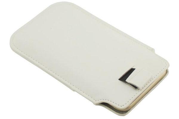 Bridge94 iPhone 6/6S PU-Leder-Pouch mit Kreditkartenfach, weiss
