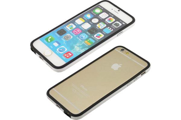 Bridge94 iPhone 6/6S Dual-TPU-Bumper, schwarz-weiss