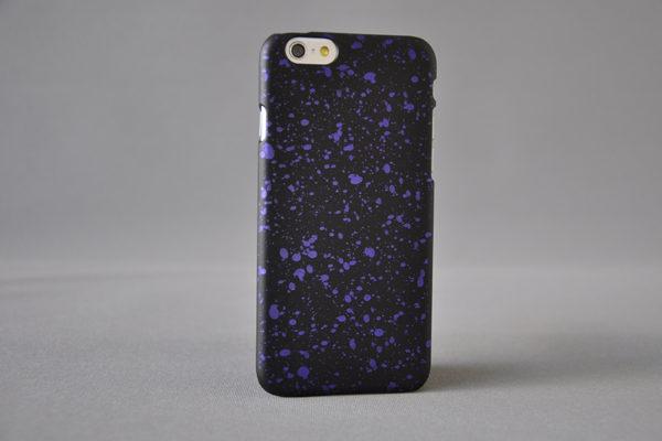 Bridge94 Ultradünnes Back-Cover für das iPhone 6/6S, schwarz-violett