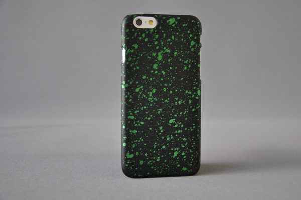 Bridge94 Ultradünnes Back-Cover für das iPhone 6/6S, schwarz-grün