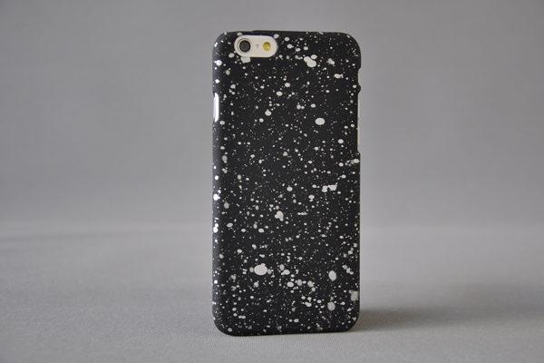 Bridge94 Ultradünnes Back-Cover für das iPhone 6/6S, schwarz-silber