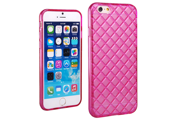 Bridge94 iPhone 6/6S TPU Gel Back-Cover, pink