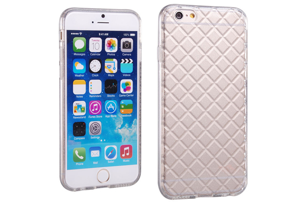 Bridge94 iPhone 6/6S TPU Gel Back-Cover, weiss