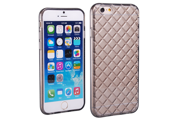 Bridge94 iPhone 6/6S TPU Gel Back-Cover, grau