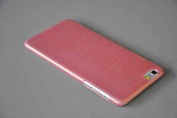 Bridge94 iPhone 6 Plus / Plus S Hard-Back-Cover, rot