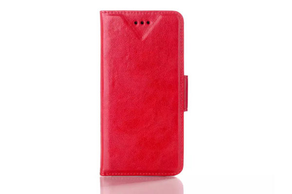 Bridge94 iPhone 6/6S PU-Leder-Wallet, rot