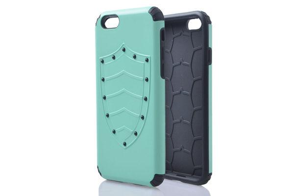 iPhone 6/6S Shockproof Back-Cover Schild, hellgrün