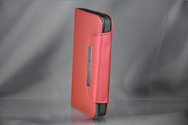 Bridge94 iPhone 5/5S/SE PU-Leder-Case, rot