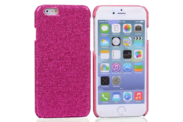 Bridge94 iPhone 6/6S BLING Back-Cover, pink