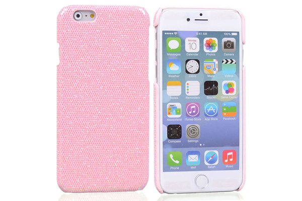 Bridge94 iPhone 6/6S BLING Back-Cover, rosa