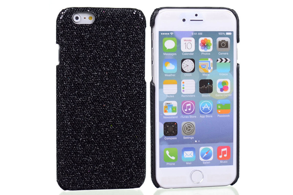 Bridge94 iPhone 6/6S BLING Back-Cover, schwarz