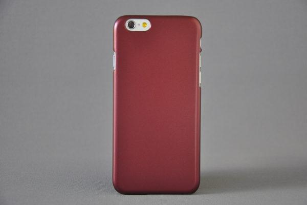 Bridge94 iPhone 6/6S Hard-Back-Cover, rot metallic
