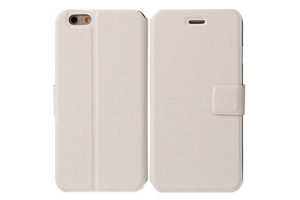 Bridge94 iPhone 6 Plus/6 Plus S PU-Leder-Etui, weiss