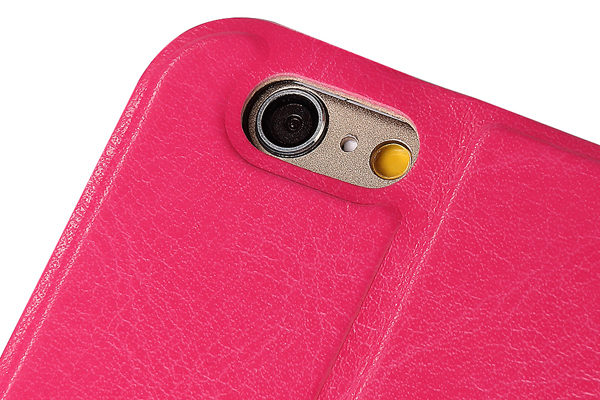 Bridge94 iPhone 6 Plus/6 Plus S PU-Leder-Etui, pink