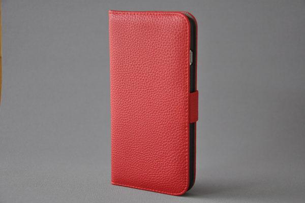 Bridge94 iPhone 6 Plus / Plus S PU-Leder-Wallet -strukurierte Oberfläche, rot