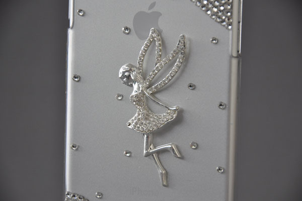 Bridge94 iPhone 6 Plus / Plus S Back-Cover transparent mit Kristallen FEE