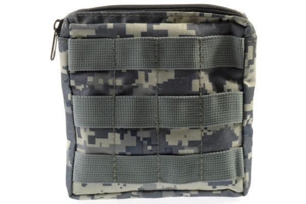 Military Tasche mit Gürtelschlaufe für Smartphone, Taschenmesser uvm., ACU