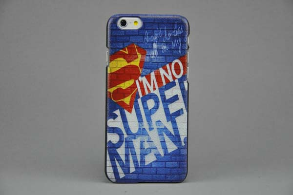 Bridge94 iPhone 6/6S Painted Back-Cover I'M NO SUPERMAN
