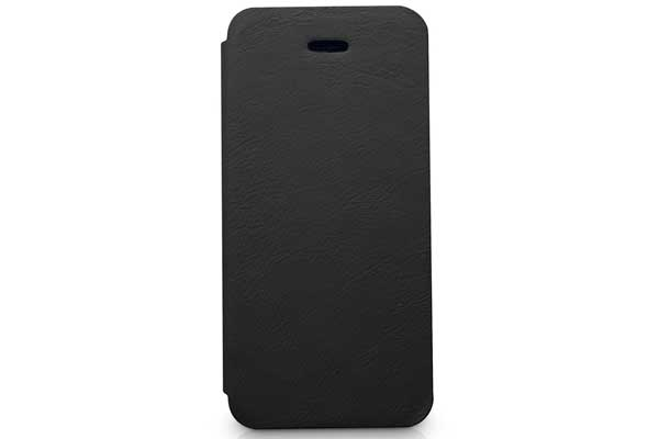 Kajsa iPhone 5/5S/SE Flip-Case °Svelte Collection°, schwarz
